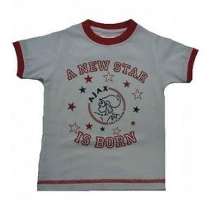Ajax baby t-shirt                         www.fanmarkt.nl