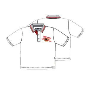 PSV  baby polo wit