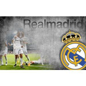 Real Madrid behang spelers 300 X 254 cm