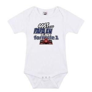 Formule 1 baby romper                  www.fanmarkt.nl
