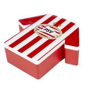 PSV broodtrommel rood/wit                     www.fanmarkt.nl