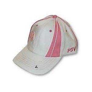 PSV cap roze/wit                    www.fanmarkt.nl