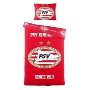 PSV dekbedovertrek logo                www.fanmarkt.nl