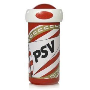 PSV schoolbeker logo                www.fanmarkt.nl