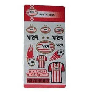 PSV tattoo set                               www.fanmarkt.nl
