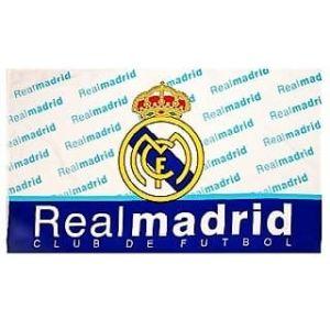 Real Madrid vlag                        www.fanmarkt.nl