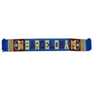 Barcelona sjaal bl/rd                                   www.fanmarkt.nl
