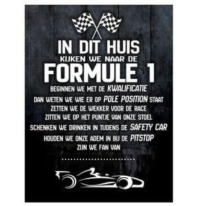 F1 bord