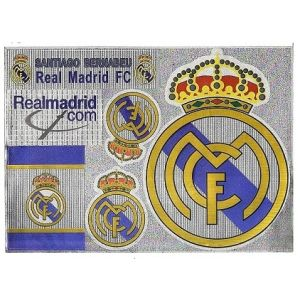 Real Madrid stickervel        www.fanmarkt.nl