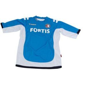 Feyenoord trainingsshirt wi/bl 06/07
